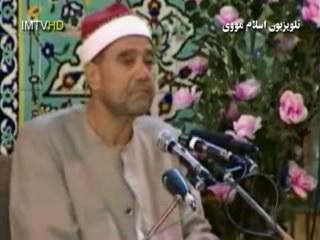 کلیپ تیکه تلاوت بسیار زیبای استاد غلوش سوره احزاب