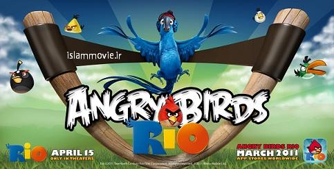 بازی آنلاین angry brid rio فلش