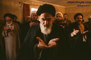 عکس ناب و جالب از قنوت امام خمینی (ره)