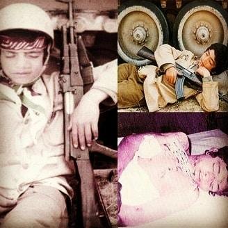 عکسهای شهید علیرضا محمودی پارسا – شهید ۱۳ ساله