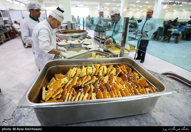 نرم افزار موبایل ثبت نام برای غذای حضرتی امام رضا (ع)