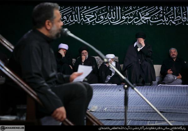 دانلود مداحی حاج محمود کریمی بیت رهبری فاطمیه دوم ۹۷