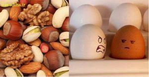 تجربه موفق مردم ایران در تحریم آجیل و تخم مرغ