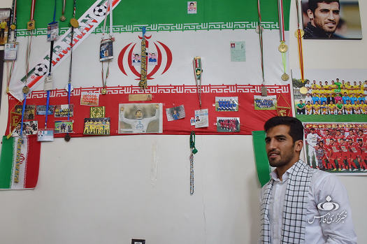 وحید امیری: حضور موفق تیم ملی در جام جهانی روسیه مرهون خون شهدای مدافع حرم